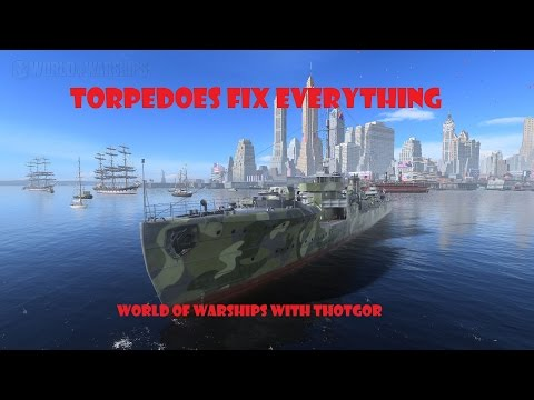 World of Warships- Torpedoes Fix Everything