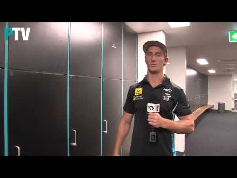 Adelaide Oval change room tour with Hamish Hartlett