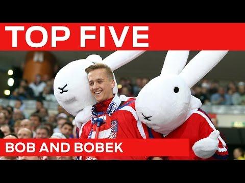 Bob and Bobek's Top 5 - #IIHFWorlds 2015 - 동영상