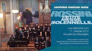 convivium musicum mainz: Rossini - Petite Messe solennelle - 1. Kyrie