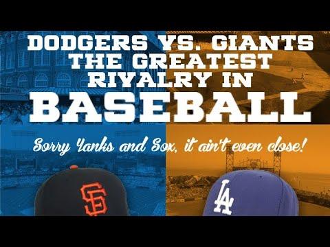 SF Giants And LA Dodgers Baseball Greatest Rivalry? By Joseph Armendariz