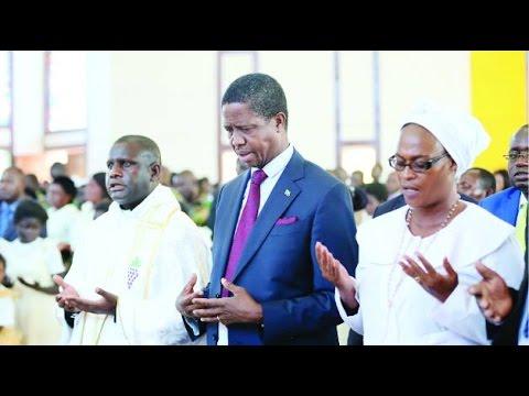 Zambia's President holds National Prayers against Failing Economy