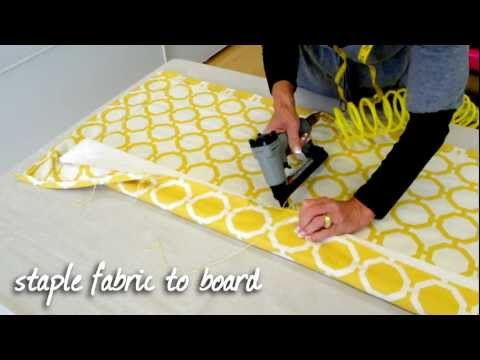 How To Make A Tailored Valance