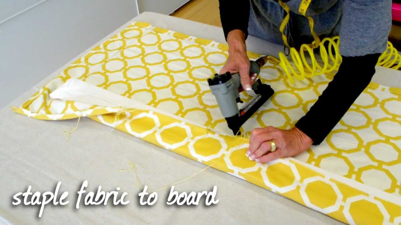 How To Make A Tailored Valance Youtube