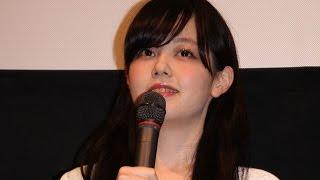 人気モデル青柳文子「こんなに暗くない」と苦笑い 本人役で映画初主演 「HARAJUKU CINEMA」初日舞台あいさつ