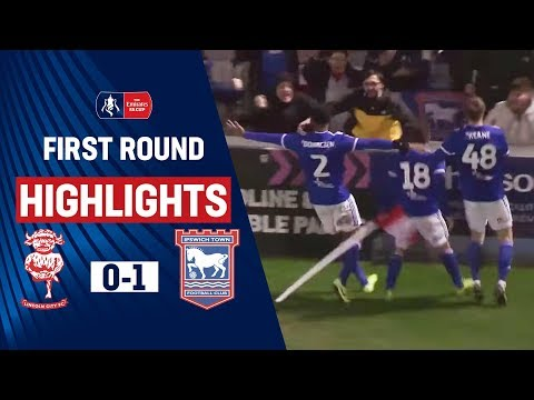 Judge's Late Injury-Time Winner Edges Imps! | Lincoln City 0-1 Ipswich Town | Emirates FA Cup 19/20