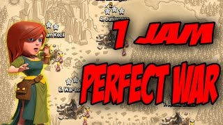 Perfect War Tercepat-Clash Of Clans Indonesia-Clan War