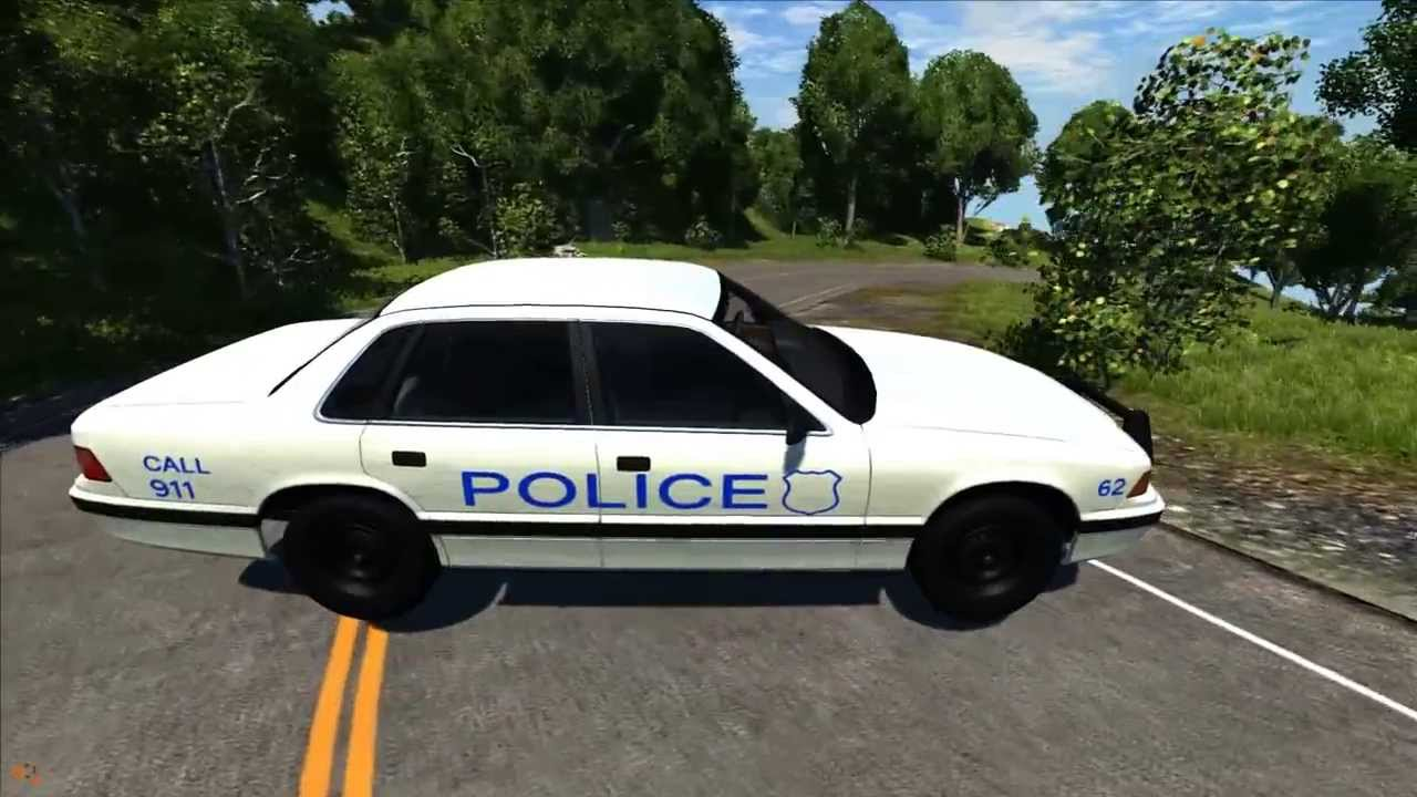 Beamng drive grand marshal police crash testing 2016 youtube sciox Images