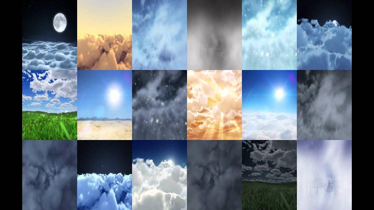 HTC Sense3 weather live wallpaper - YouTube