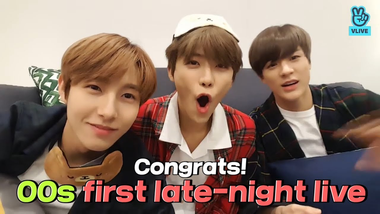(ENG sub) [V LIVE] NCT - NCT 00line's first late night V