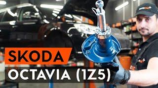 SKODA OCTAVIA Combi (1Z5) Axialgelenk Spurstange auswechseln - Video-Anleitungen