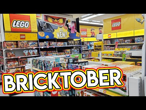 LEGO BRICKTOBER Shopping Trip At ToysRus | Week 1