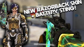 *NEW* RAZORBACK COSMOS Skin + Battery Sting! This Gun is BROKEN! (Nuclear Bomb) Call Of Duty: Mobile