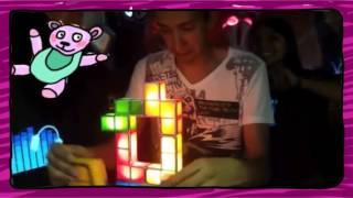KEPadrísima lámpara Tetris!
