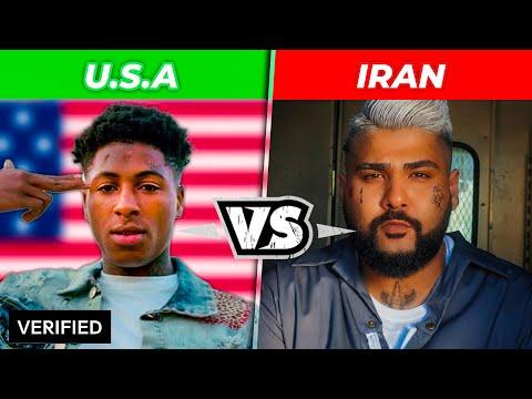 USA Vs IRAN RAP BATTLE