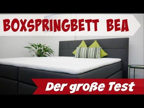 Boxspringbetten Test Bea Von Möbelfreude (Amazon)   180x200 I  Boxspringbetten24.org