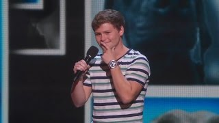 America s Got Talent 2015 S10E15 Live Shows Drew Lynch Stuttering Stand up