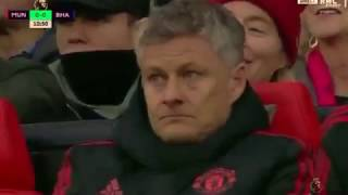 Highlights premier league manchester united vs brigton 2-1 19/01/2019