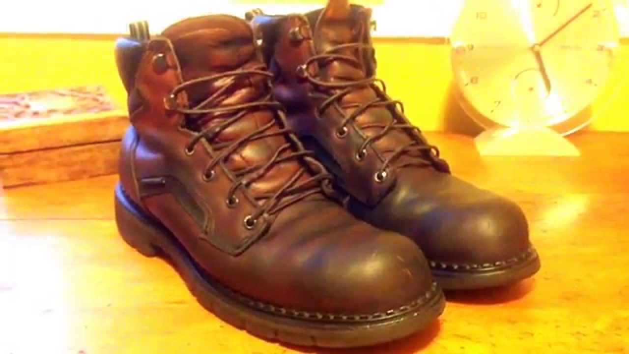 REDWING DYNA FORCE WORK BOOT - YouTube