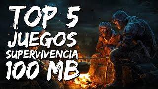 🎮 TOP 5 JUEGOS DE SUPERVIVENCIA DE MENOS DE 100MB | + Link 2017