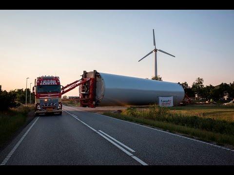 Volvo Trucks – How to haul a 150 tonne windmill