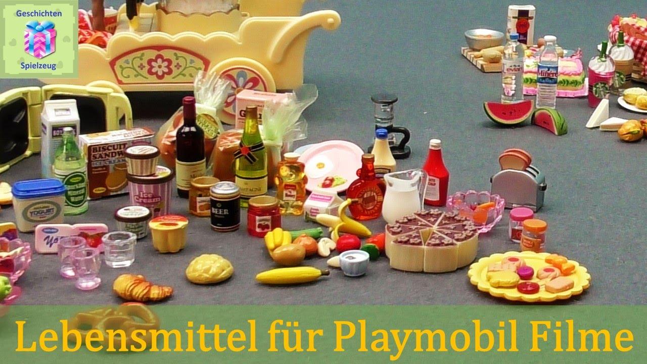 lebensmittel f r unsere playmobil filme playmobil geschichten und spielzeug youtube. Black Bedroom Furniture Sets. Home Design Ideas
