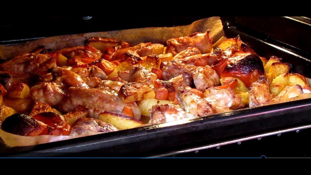 hähnchenbrust im ofen mit kartoffeln