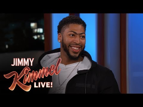 Jimmy Kimmel Measures Anthony Davis