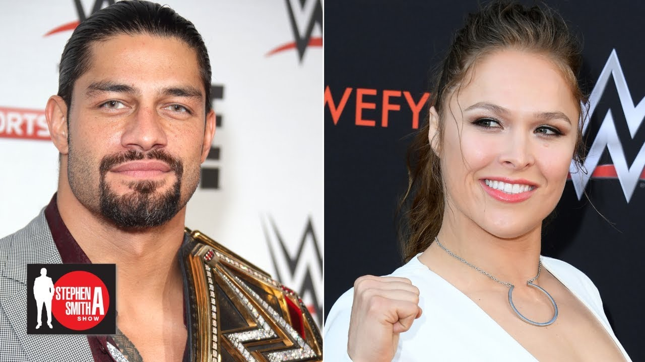 Roman Reigns talks WrestleMania 35, Rousey-Flair-Lynch main event   Stephen  A  Smith Show