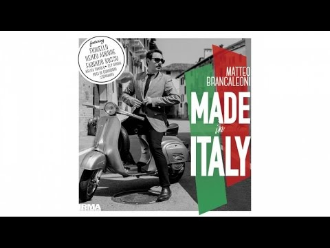 Matteo Brancaleoni - Made In Italy - H.Q. most popular italian songs crooner jazz swing version
