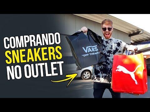 SHOPPING DAY no OUTLET PREMIUM: Vale a pena comprar SNEAKERS por lá? 💰
