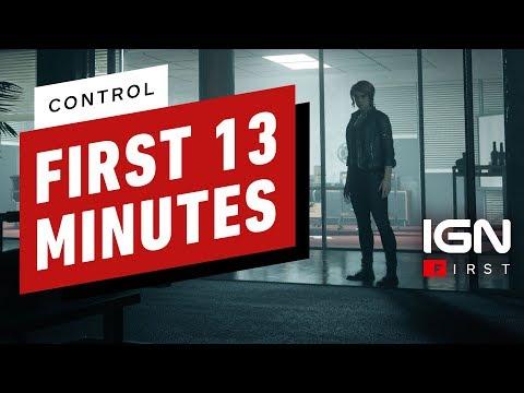 Презентация первых 13 минут Control от Remedy