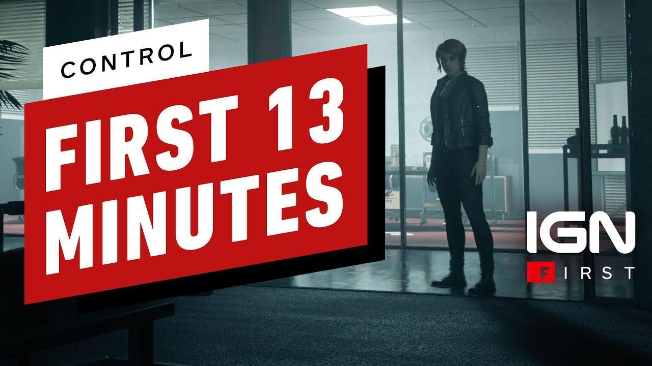 Die ersten 13 Minuten der Kontrolle - IGN zuerst + video