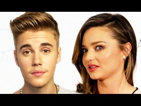 Miranda Kerr On Justin Bieber Victoria's Secret Fashion Show 2012