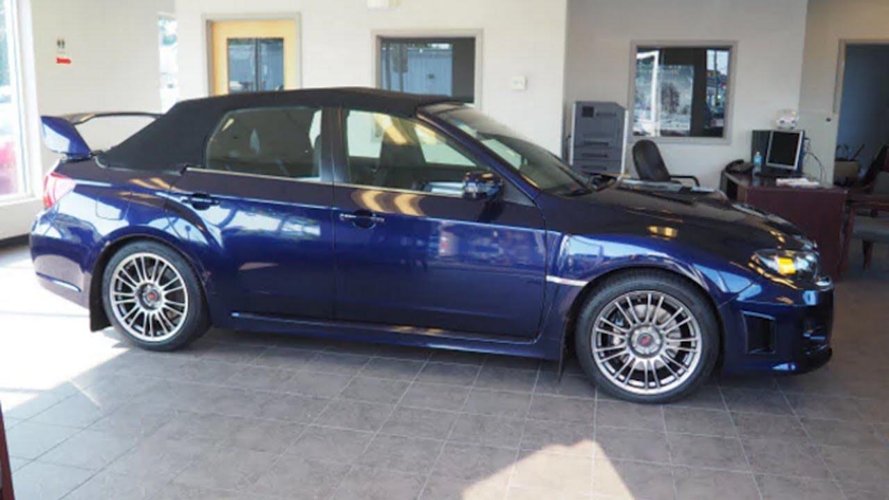 Subaru Wrx Sti Convertible Surfaces At Nh Dealer