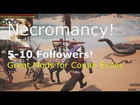 Necromancy Mods for Conan Exiles: Magical Thralls & Better Thralls