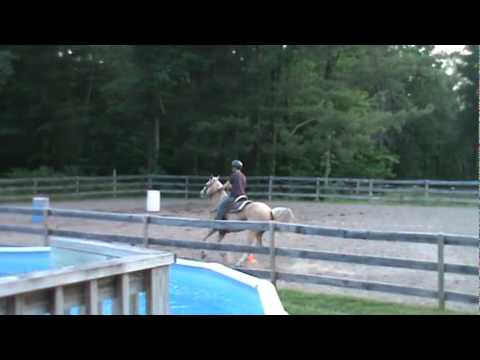 Ed and Grady Practice there jump 001