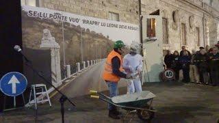 Se lu ponte vuò rraprì, lu Leone deve resalì -  Carnevale di Ascoli Piceno 2017