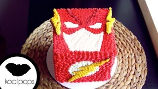 How To Decorate The Flash Cake | Become A Baking Rockstar