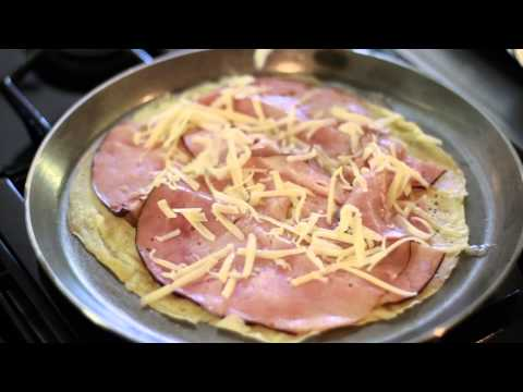 Savory Crepe Recipe With Ham & Cheese : The Family Table