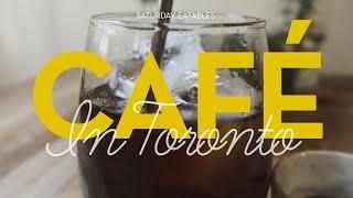 토론토 카페 투어 | Cafes in toronto #…