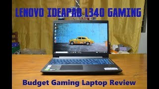Lenovo Ideapad L340 Gaming Laptop Review Video