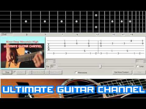 [Guitar Solo Tab] River Deep Mountain High (Tina Turner)
