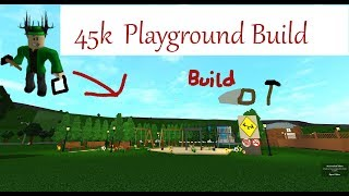 45k Playground Speedbuild| Roblox Bloxburg