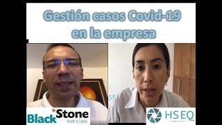 Gestión casos Covid-19 en la empresa - cuando usar pruebas Covid PCR o Rápidas