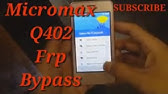 Micromax Canvas Xpress 4G Q413 google account bypass FRP