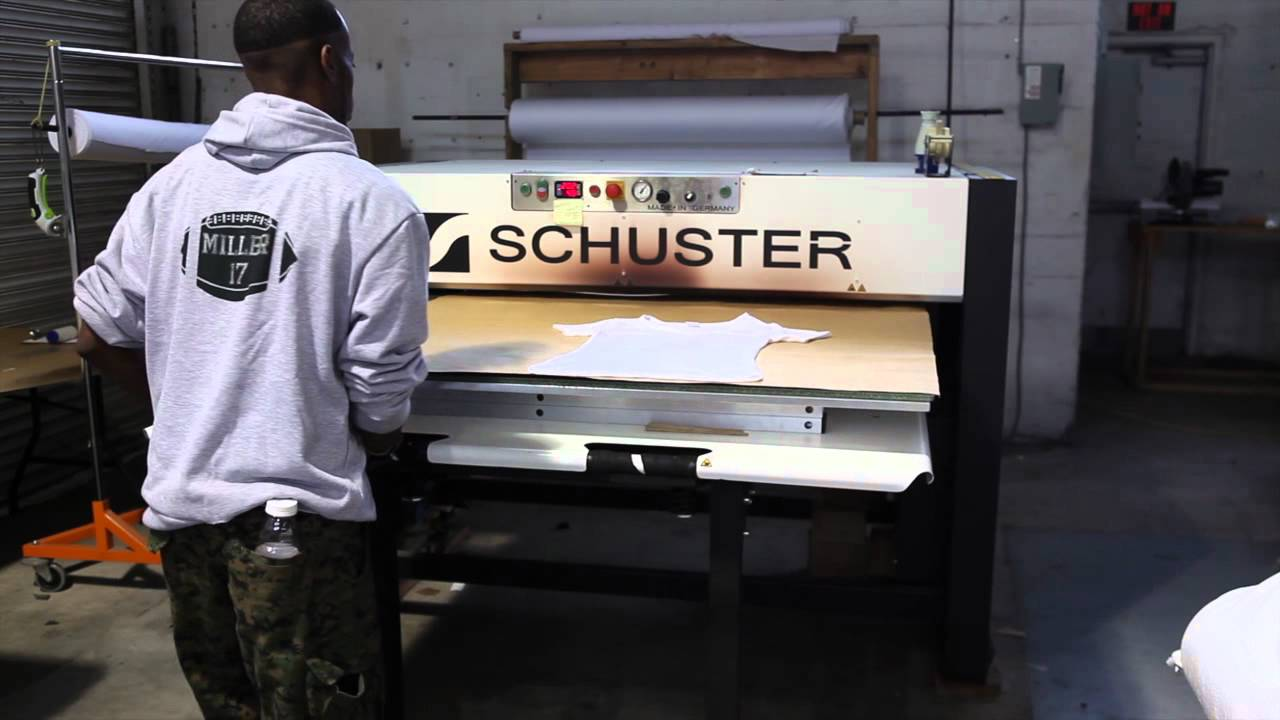 Sublimation Production House All Over Printing Youtube