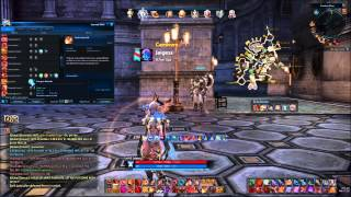 Tera Online- Level 65 Warrior Dstance Glyphs And Crystals