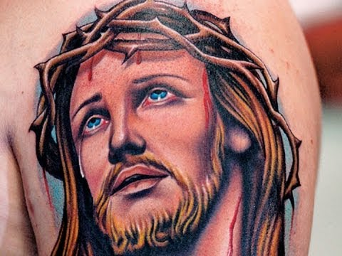 Photos Religious Tattoos Fotos Tatuagens Religiosas Tatuaje