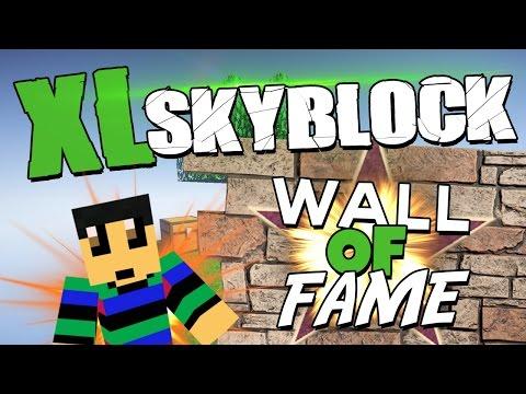 SKYBLOCK XL! - #3 - DE WALL OF FAME en KAPPA SPAM!